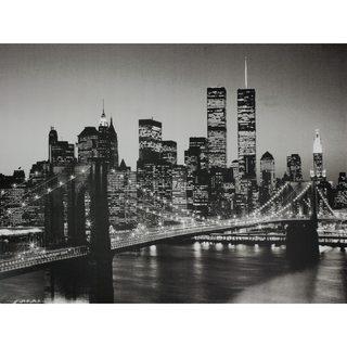 Brooklyn Bridge Wall Art - Black/White