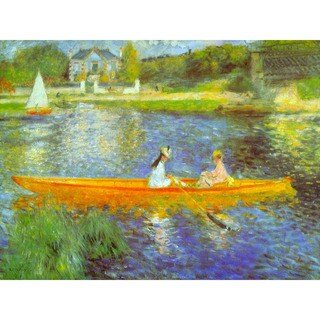 The Seine by Renoir Wall Art