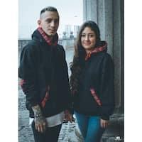 Closed style hoodie Mayas