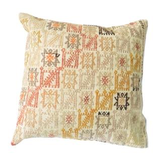 Pasargad Vintage Turkish Kilim 20-inch Throw Pillow