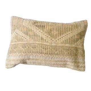Pasargad Lumber Vintage Turkish Kilim Throw Pillow (16 X 24)