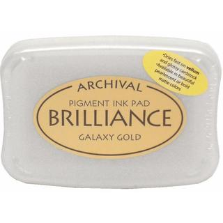 Brilliance Craft Ink Pad Large Galaxy Gold