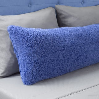 Body Pillow Cover Sherpa with Side Zipper by Windsor Home