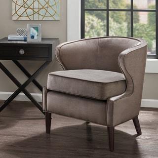 Madison Park Skye Mushroom Barrel Accent Chair