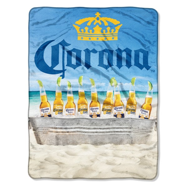 Corona Beach Cooler Throw