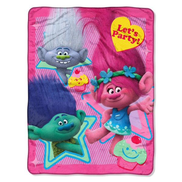 Troll Let's Party Micro Throw