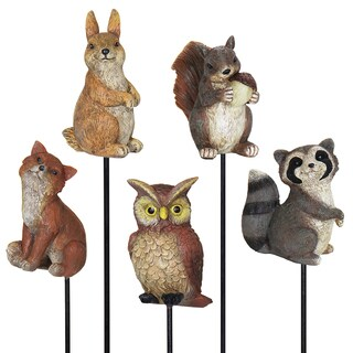 Forest Animal Stake Assortment