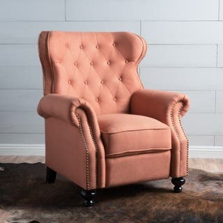 Walder Tufted Fabric Recliner Club Chair by Christopher Knight Home|https://ak1.ostkcdn.com/images/products/15279317/P21748860.jpg?impolicy=medium