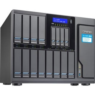 QNAP High-capacity 16-bay Xeon D Super NAS with Exceptional Performan