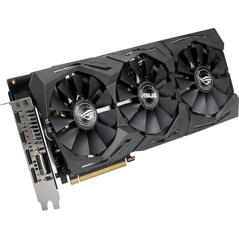 ROG ROG-STRIX-RX580-O8G-GAMING Radeon RX 580 Graphic Card - 8 GB GDDR5