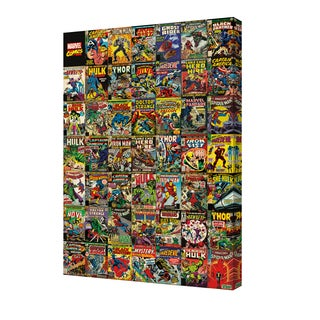 Marvel - Covers - 24x36 canvas by Pyramid America