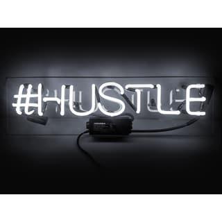 Oliver Gal 'Hustle' Neon Sign