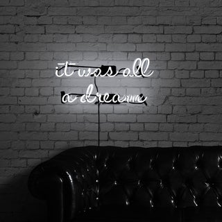 "Oliver Gal ""It Was All a Dream"" Neon Sign -2 pieces"