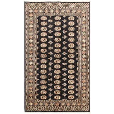 Handmade One-of-a-Kind Bokhara Wool Rug (Pakistan) - 4'11 x 8'3