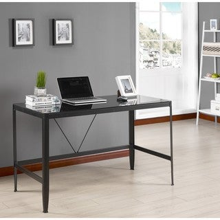 glass desk for office. K And B Furniture Co Inc Metal Glass Desk For Office S
