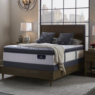 serta perfect sleeper brightmore super pillowtop split queensize mattress set
