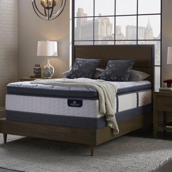 Serta Perfect Sleeper Brightmore Super Pillowtop Split Queen-size Mattress Set