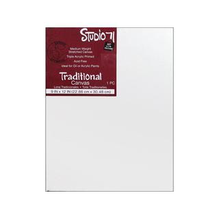 "Darice Studio 71 Traditional Canvas 9x12"""