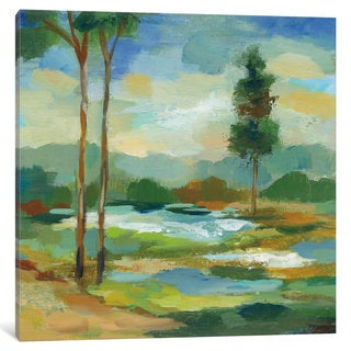 iCanvas 'Early Spring Landscape I' by Silvia Vassileva Canvas Print