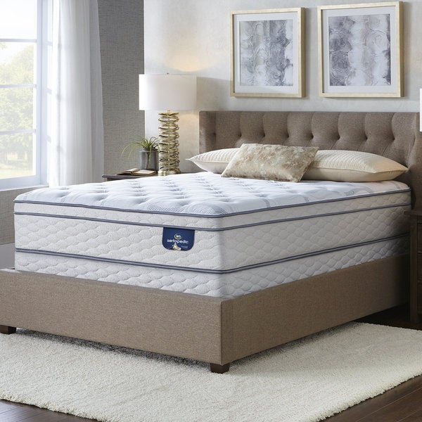 Queen Mattress Sets On Sale: Shop Serta Westview Eurotop Split Queen-size Mattress Set