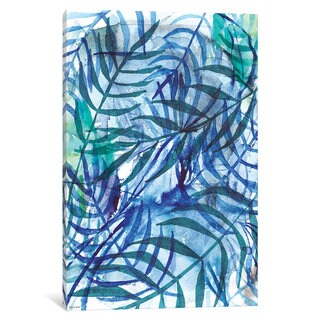 iCanvas 'Nature In Blue III' by Sweet William Canvas Print