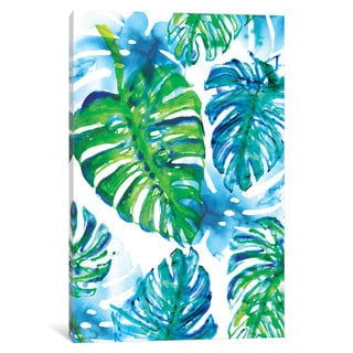 iCanvas 'Jungle Print' by Sweet William Canvas Print
