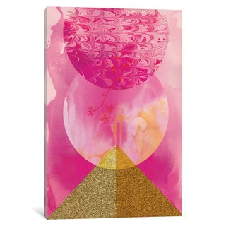 iCanvas 'Golden Pink' by Sweet William Canvas Print