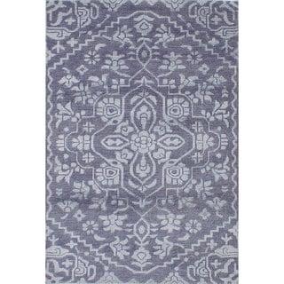 eCarpetGallery La Seda Wool/Art Silk Hand-knotted Rug