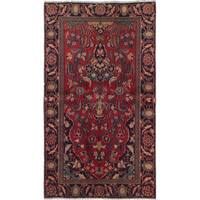eCarpetGallery Hand-Knotted Persian Vintage Red Wool Rug (3'6 x 6'3)