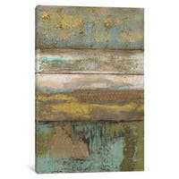 iCanvas 'Segmented Textures II' by Jennifer Goldberger Canvas Print