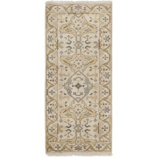eCarpetGallery Royal Ushak Ivory Hand-knotted Wool Rug (2'8 x 5'11)