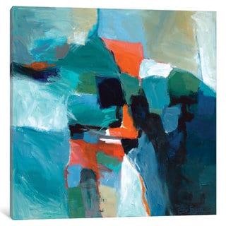 iCanvas 'Blue Aerial I' by Edie Fagan Canvas Print