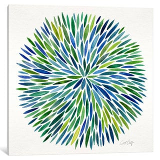 iCanvas Watercolor Burst I by Cat Coquillette Canvas Print