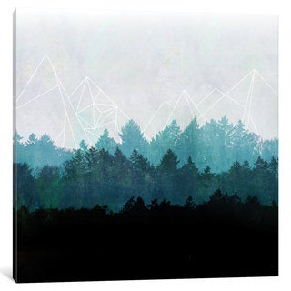 iCanvas 'Woods Abstract I' by Mareike Böhmer Canvas Print