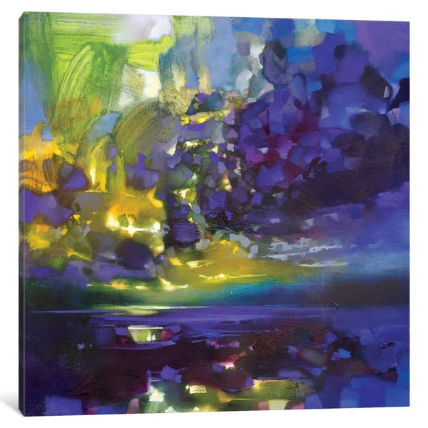 iCanvas 'Purple Movement' by Scott Naismith Canvas Print