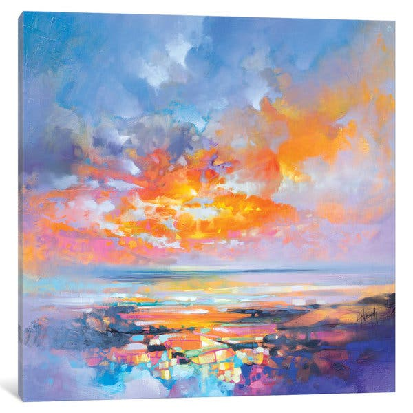 Icanvas Hebridean Particles By Scott Naismith Canvas Print Overstock 15283020