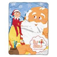 Elf On The Shelf Santa Parade Throw