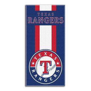 MLB 720 Rangers Zone Beach Towel