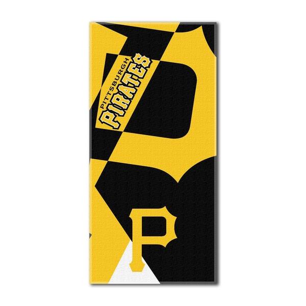 MLB 622 Pirates Puzzle Beach Towel