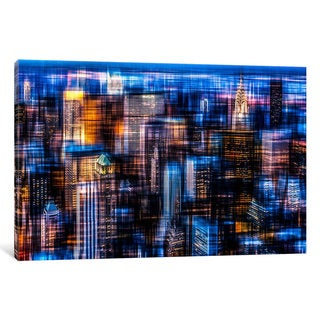 iCanvas 'Downtown II' by Hannes Cmarits Canvas Print