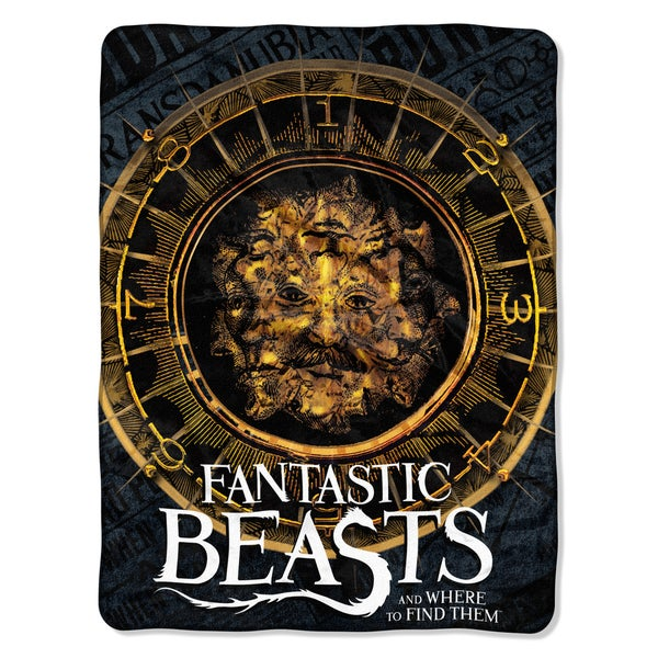 Fantastic Beasts Many Faces Throw