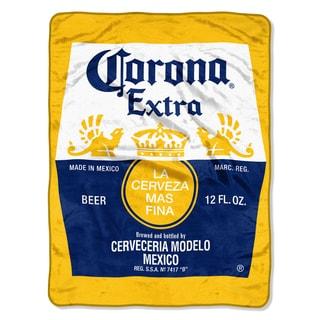 Corona  Bottle Label Throw