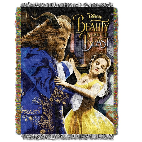 "Disney Beauty and The Beast ""Ballroom Waltz"" Throw"