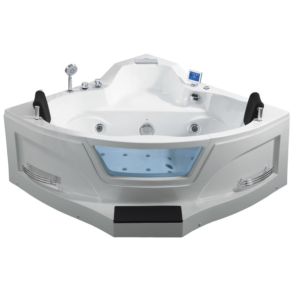Shop Ariel Arl 084 Two Person Whirlpool Bathtub Free