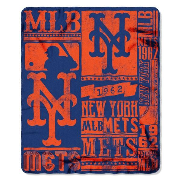 MLB 031 Mets Strength Fleece Throw