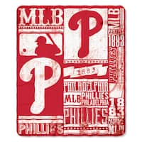MLB 031 Phillies Strength Fleece Throw