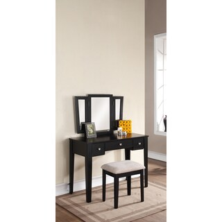 Bobkona Adar Vanity Set with Stool