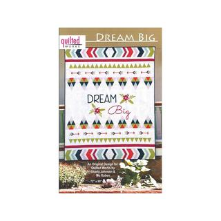 Quilted Works Dream Big Ptrn
