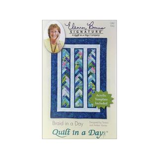 Quilt In A Day Braid In A Day Ptrn & Template