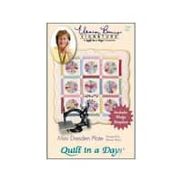 Quilt In A Day Mini Dresden Plate Ptrn & Template